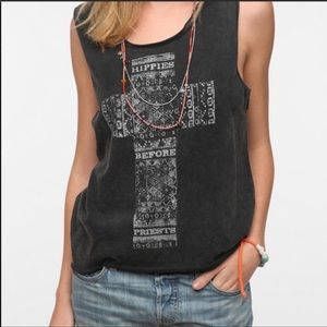 Mont LaRoc | Hippies Before Priests Graphic Tank